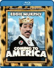 Blu Ray COMING TO AMERICA. Eddie Murphy. Collectors edition. Region free. New.