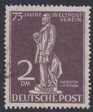 Berlín, Alemania Occidental 1949 UPU 2 dm usado SG B60