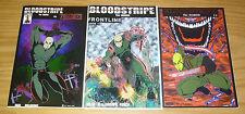 Bloodstripe the Marine #0 VF/NM one-shot + frontline + bloodstripe vs zombies