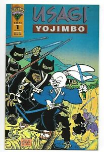 Usagi Yojimbo #1 High Grade 1st Print Mirage Studios 1993 Stan Sakai Albedo