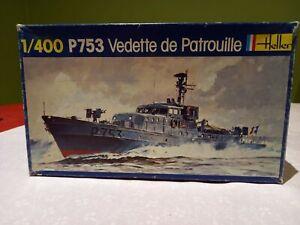 Rare Heller 1/400 P753 French patrol boat