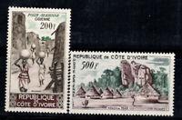 Elfenbeinküste 1962 Mi. 241-242 Postfrisch 100% Landschaften