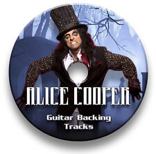 ALICE COOPER ROCK GUITAR BACKING TRACKS JAM TRAXS