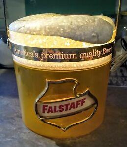 """RARE 1960s FALSTAFF BEER """"Frosty Mug"""" LIGHTED Hanging SIGN.....L@@K!"""