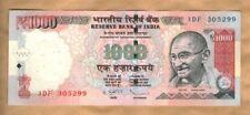 1000 Rupees 2013 - India - aUNC