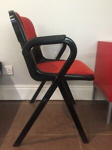 Vintage Dorsal Openark Chair 1980 Emilio Ambasz Giancarlo Piretti