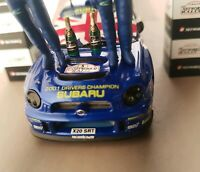IXO 1/43 Subaru Impreza WRC 200  Richard Burns Ried Champion Podium