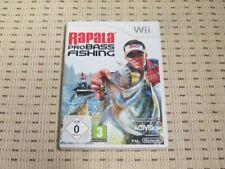 Rapala Pro Bass Fishing pour Nintendo Wii et Wii U * Neuf dans sa boîte *
