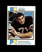 John Zook Hand Signed 1973 Topps Atlanta Falcons Autograph