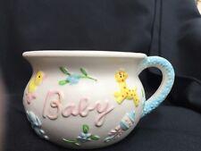 Vintage NAPCO Baby ChalkWARE Mug C-7130