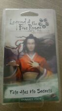 Legend Of The Five Rings - Fate Has No Secrets (opened, condition excellent)