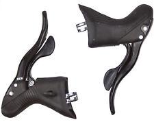 New 2014 Campagnolo Centaur Black Alloy Triple 10 Speed Ergo Lever Shifters
