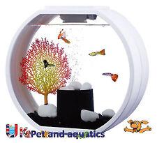 Fish R Fun, Deco Mini Fish Tank 10 L Blanc