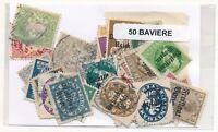 Stati Tedeschi/Baviera 50 Francobolli Differenti