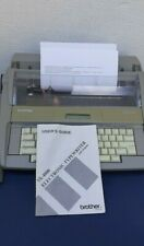 Vintage brother Portable electric typewriter SX-4000