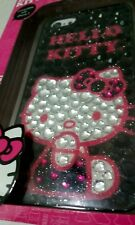Hello Kitty Cell Phone Case Cover Skin Jeweled Bling fits IPhone 5 pink