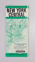 New York Central Railroad Full System Timetable 1962 Booklet Train Schedule
