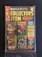 MARVEL COLLECTORS ITEM CLASSICS #5 (5.0) Hulk, Strange FF, Iron Man!