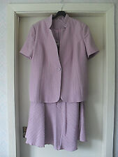 Size 16/18 BNWT ANNA ROSE lavender pink skirt suit-wedding -mother of bride
