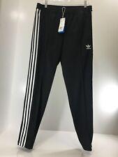 Adidas Men's Originals Firebird Beckenbauer Pull On Joggers Black/White M NWT @
