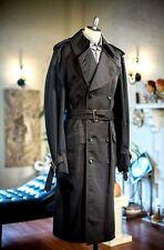 Vintage Hipster Secret Agent Classic Trench Coat by Mr. Belster Men In Black M/L