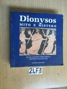 DYONISOS MITO E MISTERO  (24F3