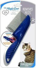 Four Paws Long Tooth Flea Catcher Comb Magic Coat Removes Pests All hair types