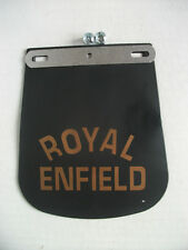 ROYAL ENFIELD MOTORCYCLE FRONT MUD FLAP BULLET TURBO CAFE RACER CHOPPER MUDFLAP