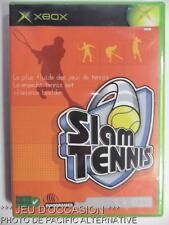 Jeu SLAM TENNIS microsoft XBOX game francais sport vintage retro spiel juego #1