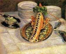 Still Life With Crayfish 1880 1882 A4 Print