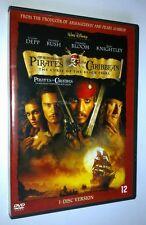 DVD DISNEY - PIRATES DES CARAIBES LA MALEDICTION DU BLACK PEARL - JOHNNY DEPP...