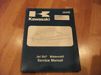 1982-1983 Kawasaki Jet Ski JS440 Watercraft Manual