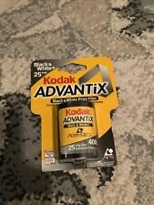 Kodak Advantix Black & White Print Film 400 / 25 Exp New Old Stock Exp. 2001