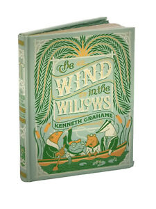 ❤️THE WIND IN THE WILLOWS Illustrated Leather Bound Collectible Edition NEW
