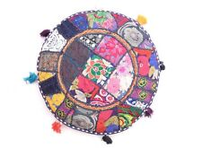 Set 10PC Ethnic Indian Patchwork Vintage Embroidered Cushion Vintage Pillow Case