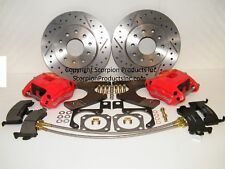 Wilwood GM 10/12 Bolt Rear Disc Brake Conversion Drilled & Slotted Rotors Camaro