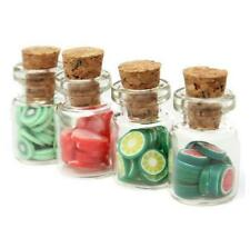 1:12 Dollhouse Miniature X1 Random Fruit Jar For Kitchen Furniture Accessories @