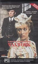 Waxwork A macabre murder mystery VHS video 1988 SEALED Never opened FREE POSTAGE