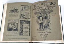 Raccolta The Studio Illustrated Magazine of Fine & Applied Arts 1901-02