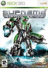 SUPREME COMMANDER                 -----   pour X-BOX 360  // PN