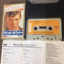 David Bowie Changesonebowie-Now Spéciale '80 Japan Cassette Rcp-1623