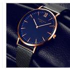 Fashion Casual Luxury Men's Stainless Steel Band Quartz Analog Wrist Watch gift