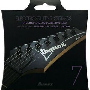 Ibanez IEGS71 Electric Guitar Strings 7 String / Regular Light Free Shipping!!