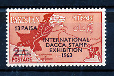 PAKISTAN 1963 2nd INTERNATIONAL STAMP EXHIBITION DACCA  MNH