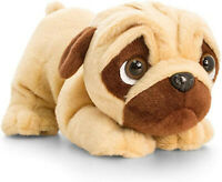 Keel Toys Pugsley 18cm Pouncing Pug Dog Cuddly Soft Toy Puppy Plush SD0792