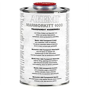 Akemi Epoxy Resin Water Clear 900 ml Travertine Marble Granite Tile Hole Filler