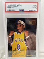 🔥 Kobe Bryant 1996  Metal Fresh Foundation PSA 9 MINT #137 Rookie Card Lakers
