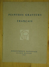Peintres graveurs français. 48 e exposition. 1965. Bibliothèque Nationale.