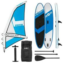 Paddle Board Surf SUP Stand Up Gonfiabile Accessori Padding 300x10x71 Vela BN