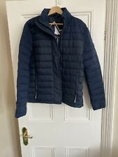 Mens Navy Blue Superdry Puffa Jacket Size Xxl Worn Once